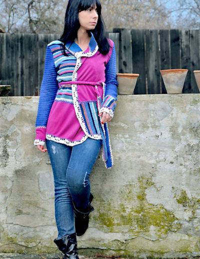 Frajla-džemper-roze