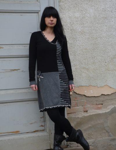 Frajla-haljina-midi-crna